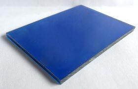 tấm polycarbonate đặc xanh da trời