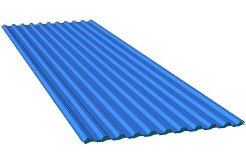 Tấm lợp nhựa composite
