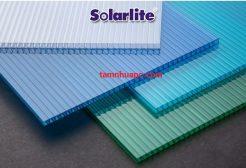 Bảng giá tấm lợp lấy sáng rỗng ruột tấm poly solarlite